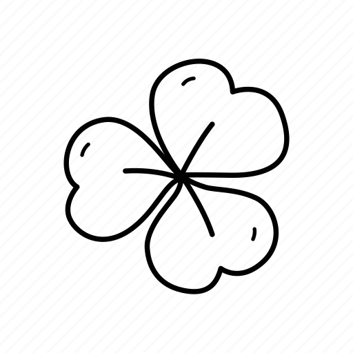 clover, green, leaf, lucky clover, st patrick's day, three leaf clover, trefoil icon