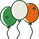 balloons, celebration, party, decoration, balloon, irish, festival