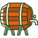 beer, barrel, beer barrel, drink, alcohol, beer keg, drink storage