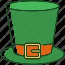 leprechaun, hat, leprechaun hat, st patrick, shamrock, luck, day