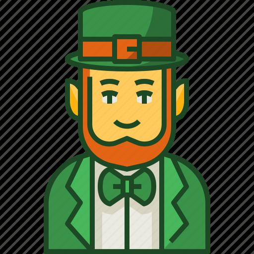 Leprechaun, saint, patricks, day, irish, shamrock, hat icon - Download on Iconfinder
