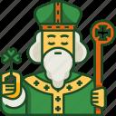 saint patrick, st patricks day, celebration, irish, clover, holiday, ireland