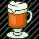 coffee, irish coffee, brewed coffee, iced coffee, ireland, st patricks day, beverage