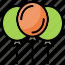 air, balloon, travel icon