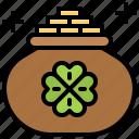 gold, money, pot icon