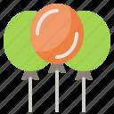 air, balloon, party icon