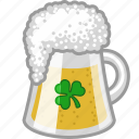 alcohol, beer, drink, irish, lager, pub, shamrock icon