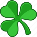 clover, irish, saint patrick, lucky, shamrock, ireland, luck icon