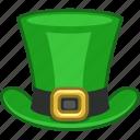 irish, saint patrick, green, ireland, leprechaun, tophat, hat