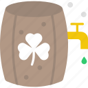 alcoholic drinks, barrel, cask, wine cask, wine storage icon
