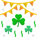 bunting, cultures, irish, st patrick, st patricks day