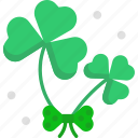 clover, good luck, ireland, shamrock icon