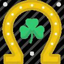 clover, horseshoe, saint patricks day, shamrock, st patrick