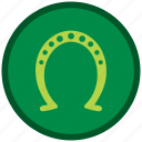 christmas, decoration, horseshoe, patricks, st, xmas icon