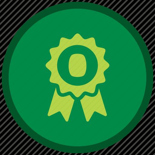 award, award badge, award ribbon, badge, st patricks day icon