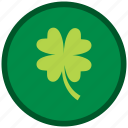 clever, clover, leaf, patricks, shamrock icon