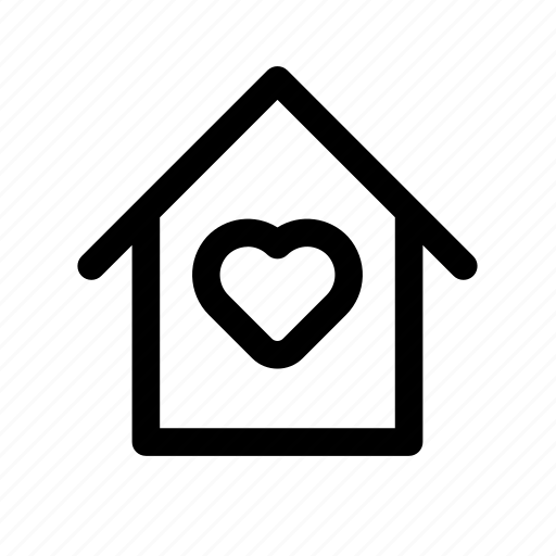 heart, home, house, love, lovely, mainpage, st. valentine's day, valentine icon