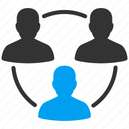 communication, connection, management, organization, people group, team circle, teamwork icon