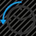 history, back, restore, return, rollback, refresh, revert icon