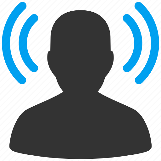audio, communication, contact, gossip, inform, information, informer, message, news, propaganda, rumors, source, speak, speaker, speech, talk icon