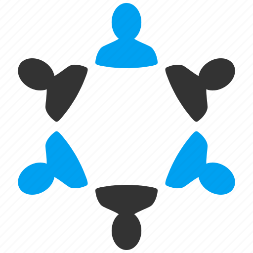 communication, connection, management, organization, people group, team, teamwork icon