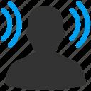 antenna, bluetooth, broadcast, chat, communication, connect, connection, gossip, media, mobile, radio, retailment, router, rumors, signal, slander, tattle, tittle-tattle, transmit, transmitter, wifi, wireless icon