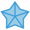 award, flower, star icon