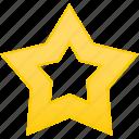 gold, star, best, favorite, win
