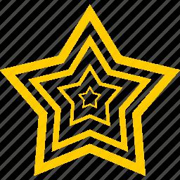 favorite, gold, prize, star, win icon