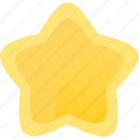 gold, prize, star, win, winner icon