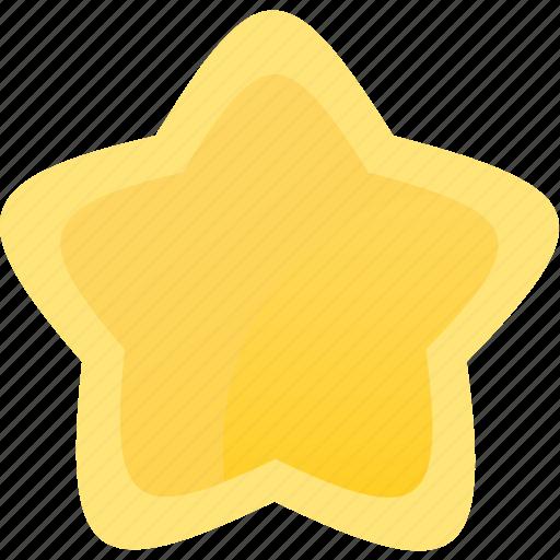 gold, prize, star, win, winner icon
