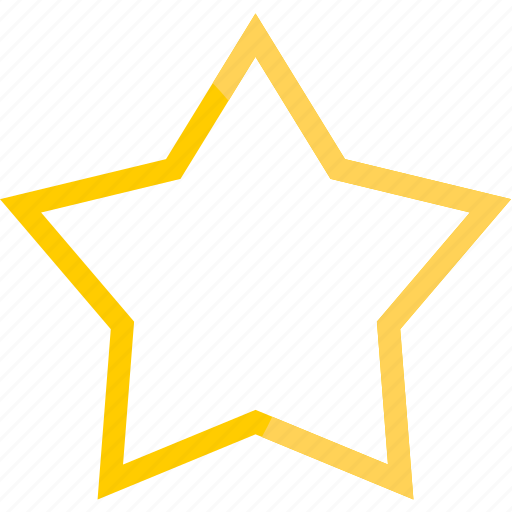 best, favorite, gold, star, win icon