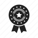 achievement, approved, award, badge, collection, element, excellent, favorite, medal, star, win, winner icon