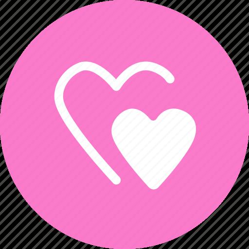 favorite, hearts, like, love icon