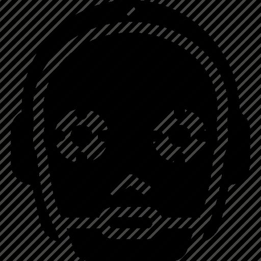 astromech, c3, droid, po, starwars icon