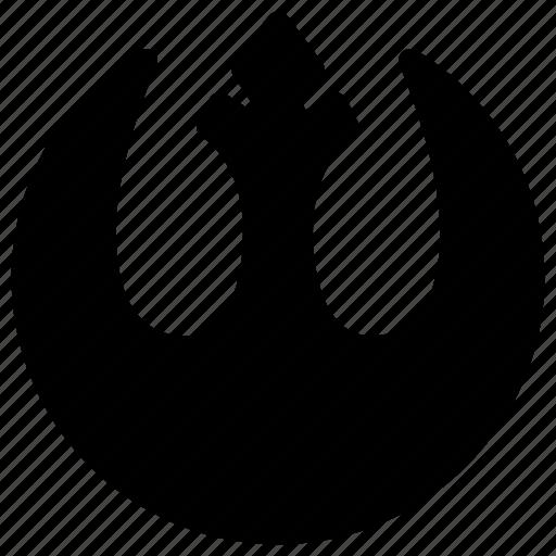 alliance, rebel, star, universe, wars icon