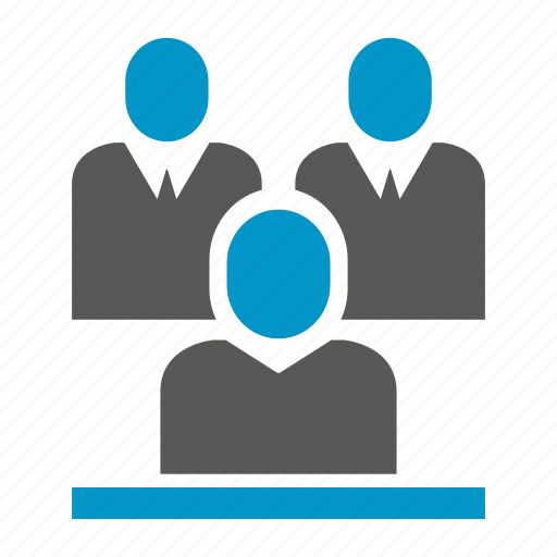 interiew, meeting, office, people icon