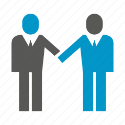 business, deal, join, people, together, worker icon