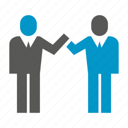 business, deal, join, office, people, shake hands, worker icon