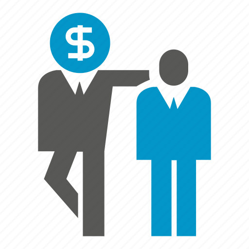 dollar, fund, money, people, together icon