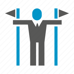 accomplishment, achievement, business man, flag, people, success, winner icon