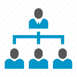 business, company, diagram, office, organization chart, people, worker icon