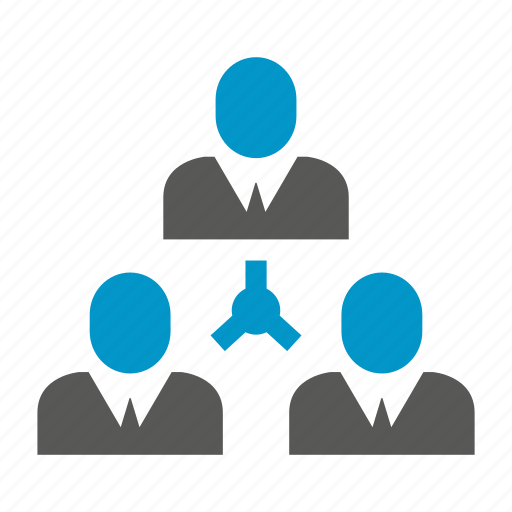 business, diagram, organization chart, people icon