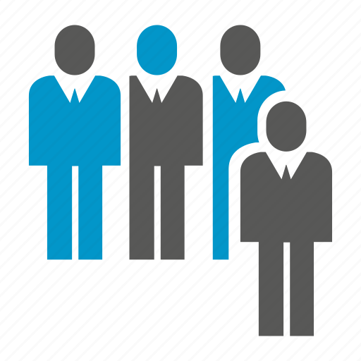 business, leader, people, teamwork icon