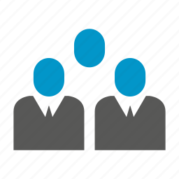 business people, group, teamwork icon