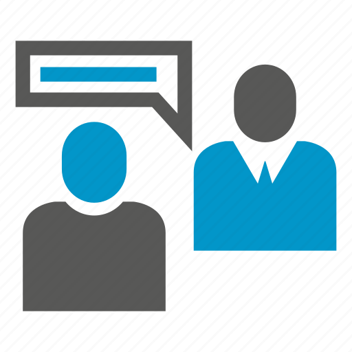 communicate, people, speech, talk icon