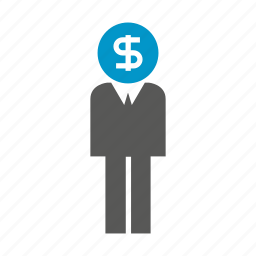 business, dollar, fund, money, people icon