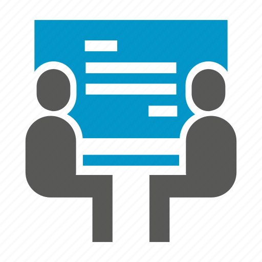 business people, management, meeting, office, people icon