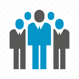 business people, community, crowd, group, team icon