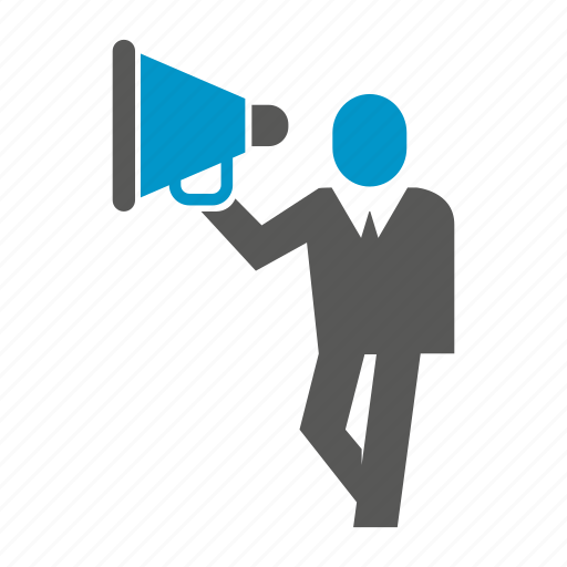 advertising, announce, marketing, megaphone, sound, speaker icon